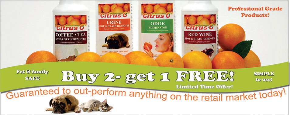 Citrus O Spot and Urine Removers