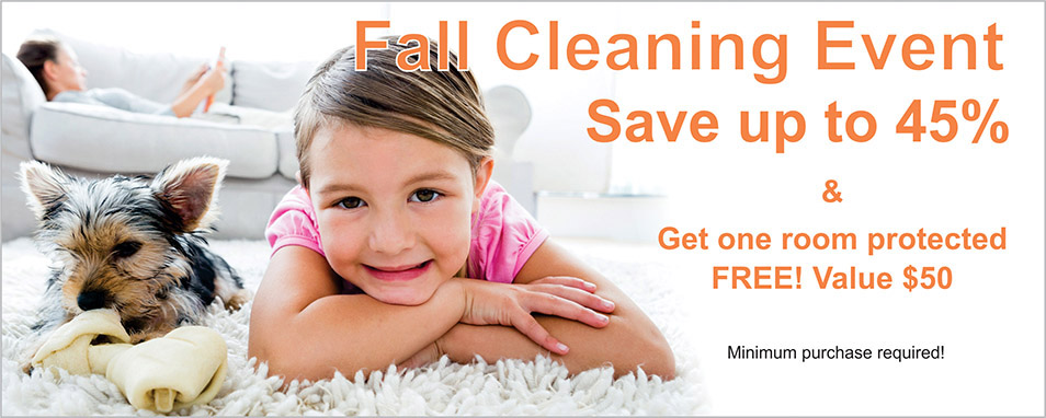 FALL CLEANING EVENT