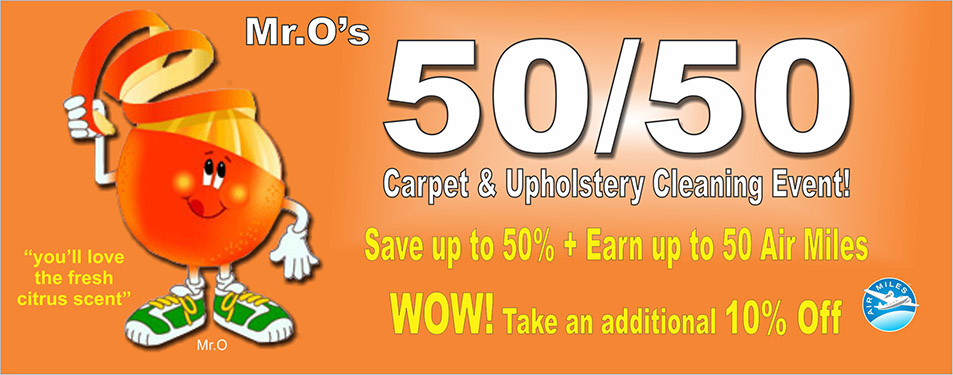 50/50 cleaning event